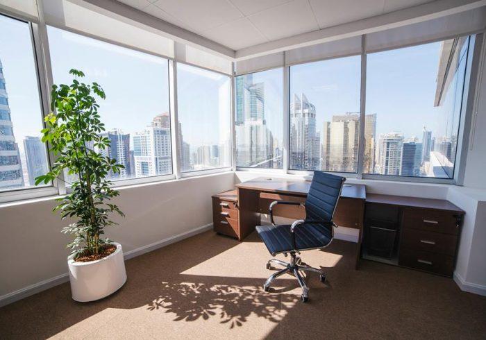 corner office JLT view (2)